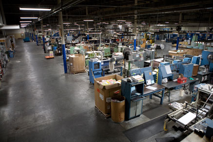 Expansive Printing Operation