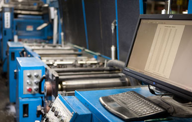 Full Web Bindery